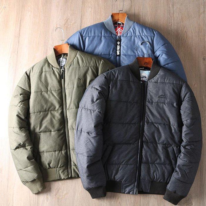 ☆MR.STORE.A☆歐單加厚款保暖刷毛MA1鋪棉飛行夾克棒球外套(3色)~預購+現貨