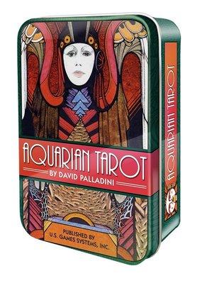 【牌的世界】寶瓶座塔羅牌鐵盒版Aquarian Tarot(78張)