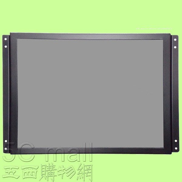 5Cgo【權宇】SS190-T 19吋4:3嵌入開放式工業級LED鐵殼顯示監視器可加觸控 另12/15/17/22吋含稅