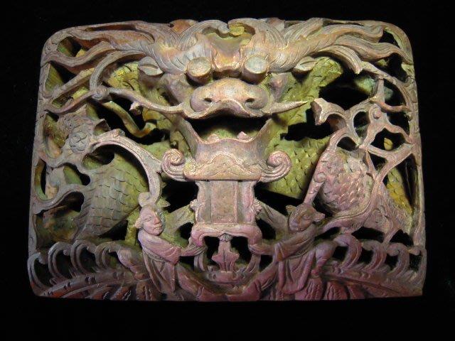 古董龍型雕刻(C3)