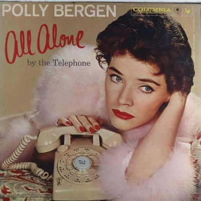 西洋-Columbia/CL 1300/寶莉貝根(知名美國演員):All Alone by the Telephone