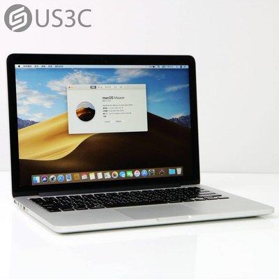【US3C-松山店】2015年初 公司貨 Apple MacBook Pro Retina 13吋 i5 2.7G 8G 256G 已更換全新電池 店保3個月