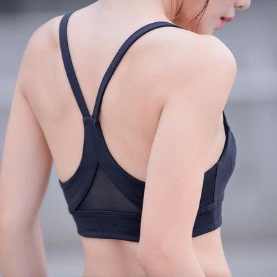 運動內衣女防震防下垂大胸跑步聚攏瑜伽背心式文胸專業定型bra夏