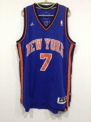 Carmelo Anthony全新Adidas尼克隊球衣