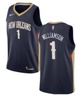 錫安·威廉森 (Zion Williamson) NBA2018全明星賽球衣  新奧爾良鵜鶘隊 1號 藍色