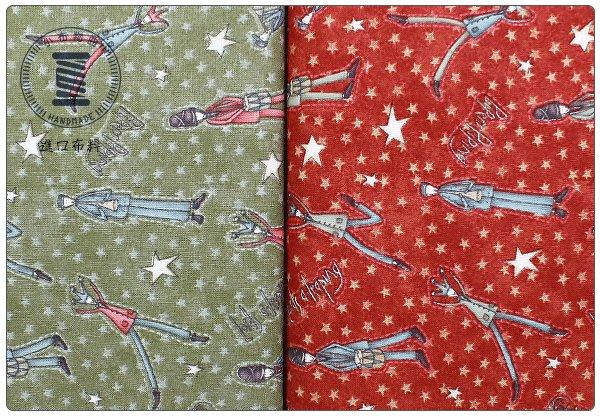✿小布物曲✿純棉 小丑樂隊花布 窄幅110CM 韓國進口布料質感優 2色 防疫口罩