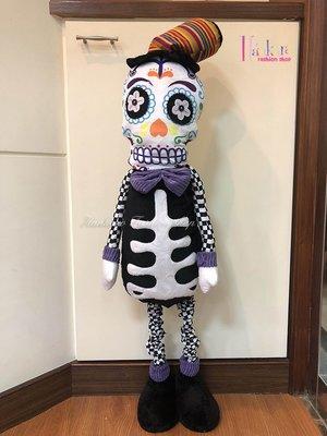 ☆[Hankaro]☆ 歐美創意萬聖節布置道具搖擺骷髏公仔裝飾