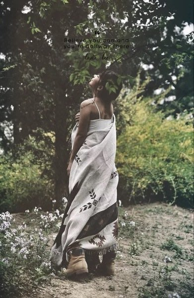 115x150cm複古美式鄉村休閑毯裝飾毯掛毯裝飾毯純棉沙發毯幾何納瓦霍Sugar Korea100%