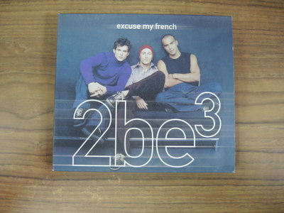 ◎MWM◎【二手CD】2be3-Excuse My French 中英文歌詞,團員小卡