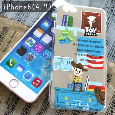尼德斯Nydus~* 加藤真治 Shinzi Katoh 迪士尼聯名 硬殼 手機殼 4.7吋 iPhone6 玩具總動員