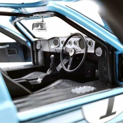 汽車模型福特GT40車模勒芒賽 ACME 1:18 1966福特GT MKII合金仿真汽車模型@sa03025