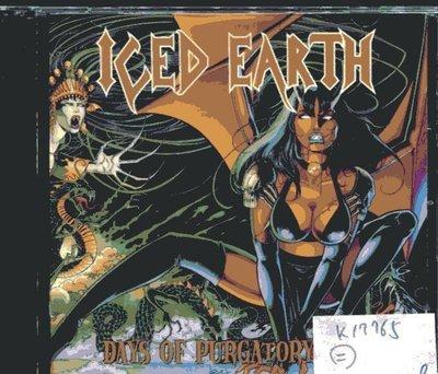 *真音樂* KED EARTH / DAYS OF PURGATORY 二手 K17765 (封面底破)