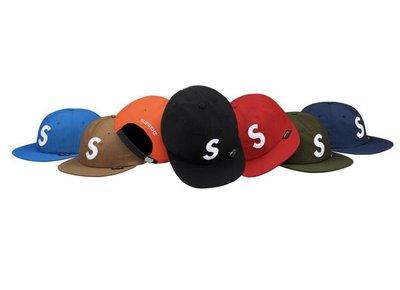 xsPC Supreme 18Fw CORDURA S LOGO 6 PANE  六分割帽 紅 現貨