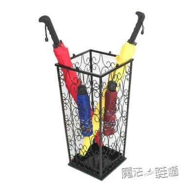 哆啦本鋪 家用雨傘架 酒店 鐵藝創意摺疊雨傘桶收納桶放傘架子 D655