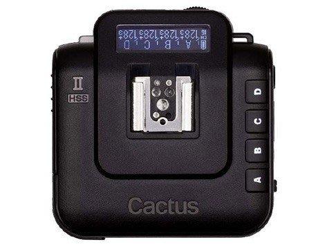 呈現攝影-Cactus V6II  通用型閃燈觸發器2.4G 收發一體  高速同步 跨系統通用 可雙閃 喚醒 TTL