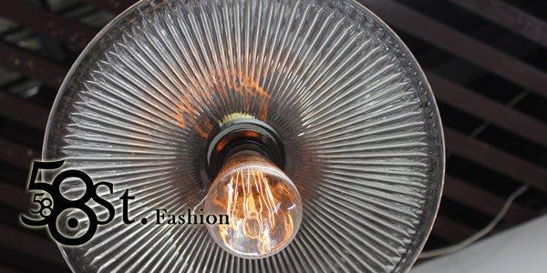 【58街】歐式復古 新款式「Raymond雷蒙_傘玻璃吊燈」美術燈。複刻版。GH-383