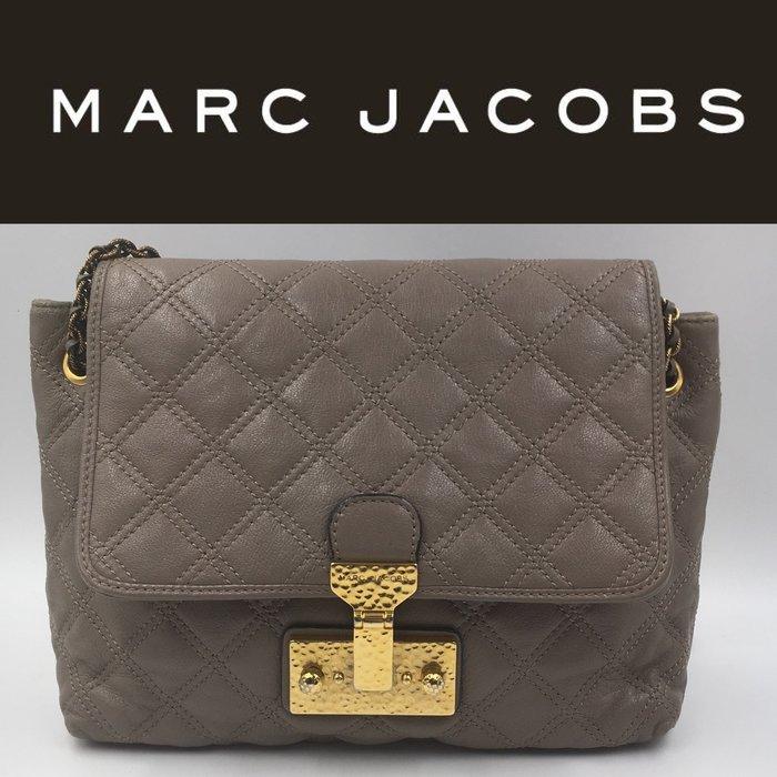 【皮老闆】二手真品 Marc Jacobs 手提包 肩背包 (藍4)