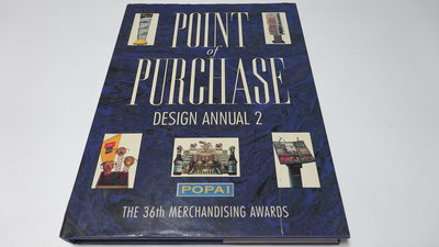 進口商業設計書  《PURCHASE DESIGN ANNUAL2.  POPAI's 35th MERCHANDISING AWARD》 (編號07026)