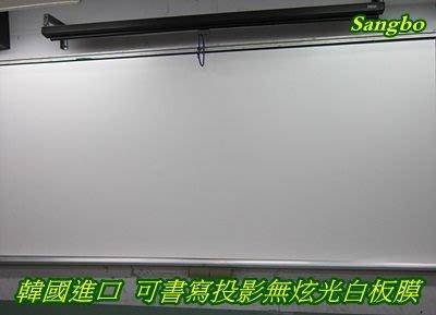 Sangbo 磁鐵式(磁吸式)可書寫投影白板銀幕115cm x 150cm