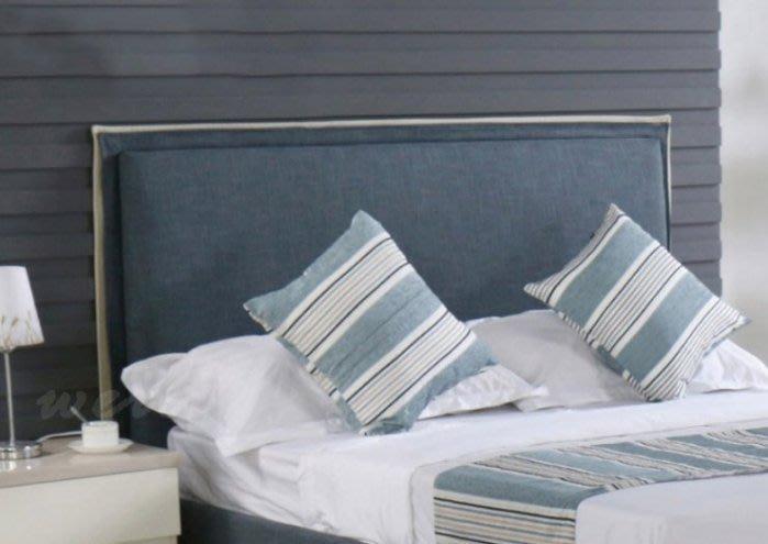 【DH】商品貨號N571-2商品名稱《使特約》5尺雙人床片(圖一)不含床底。簡約優質經典。主要地區免運費