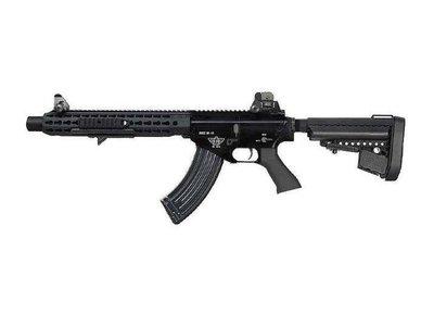 【WKT】仿真後座力 BOLT BR KEYMOD SUPPRESSOR EBB 電動槍-BOLTE025