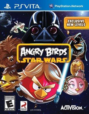 全新未拆 PSV 憤怒鳥:星際大戰 -英文版- Angry Birds Star Wars