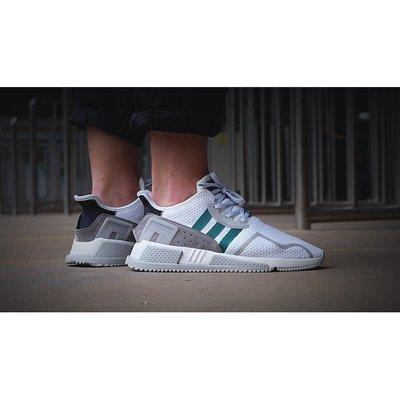 Adidas Men EQT Cushion ADV 白綠 North America 慢跑 CP9458