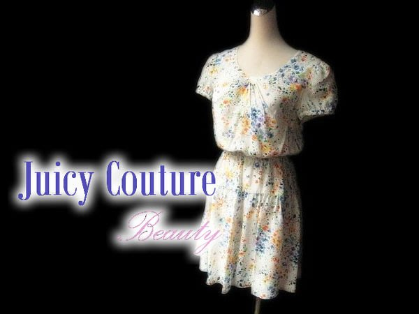 *Beauty*Juicy Couture 碎花洋裝 WE14