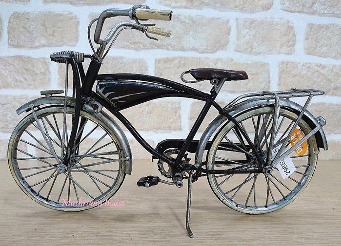 點點蘑菇屋 鐵製復古1959年老式自行車擺飾 模型 腳踏車 鐵馬 現貨 鄉村風