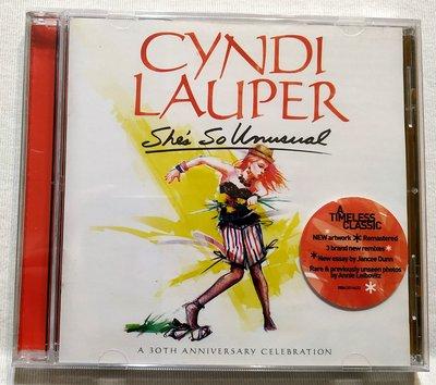 全新未拆 辛蒂露波 Cyndi Lauper /她非比尋常 (30周年紀念版)She's So Unusual 澳洲進口