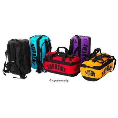 【美國鞋校】預購 Supreme SS19 TNF Arc Logo Arc Base Camp Duffle 旅行袋
