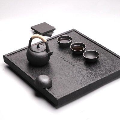 【睿智精品】石茶盤 功夫茶盤 茗茶 泡茶石盤 烏金石茶盤(GA-4410)