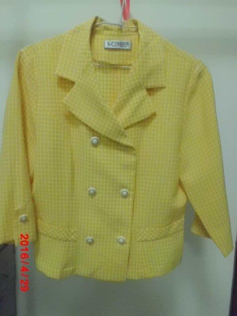 黃色套裝 ( 七分袖 ) ~ 便宜賣