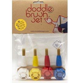 【魔法世界】英國 DoddleBags 彩虹荳荳袋(塗鴨組) 不沾手魔術筆