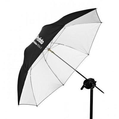 《WL數碼達人》Umbrella Shallow White S 淺款白色S號反光傘
