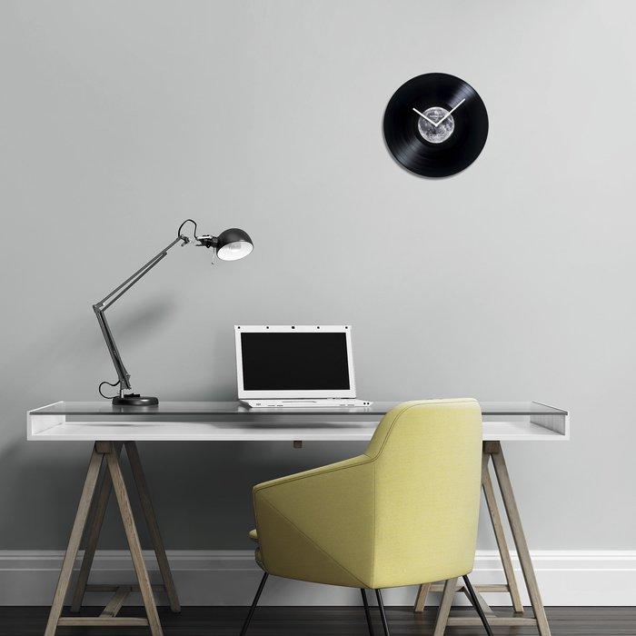 HeadphoneDog星球黑膠時鐘 (月球鐘,地球,銀河,moon,earth)