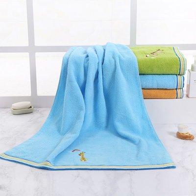 成人浴巾全棉寶寶兒童卡通蓋毯加大加厚情侶強吸水柔軟不掉毛浴巾