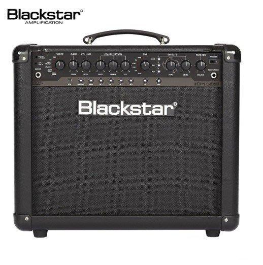 ☆ 唐尼樂器︵☆ Blackstar ID15 ID:15 TVP 電吉他音箱(真空管模擬/內建綜合效果器)