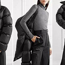 山頂鳥頂級系列 有Moncler X Rick Owens 風黑色造型羽絨外套