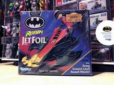 Artlife @ DC KENNER 1991 Robin Jet Foil BATMAN 蝙蝠俠 羅賓 蝙蝠飛機