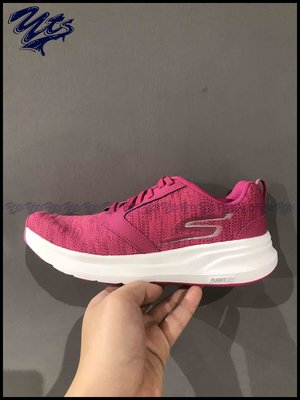 SKECHERS Go Run Ride 7 粉紅 編織 慢跑鞋 3M 女鞋 運動 休閒 透氣 15200PNK YTS