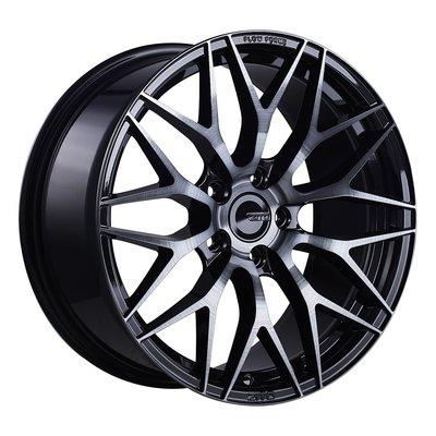 【FK鋁圈】ENKEI DG 18吋 5/112 ZF01 黑車面髮絲黑 各車系鋁圈歡迎詢問