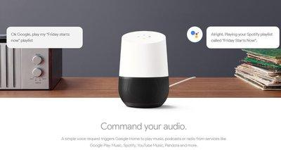 全新※台北快貨※美國原裝 Google HOME 聲控網路喇叭 智慧家電 語音助理 Nest Chromecast