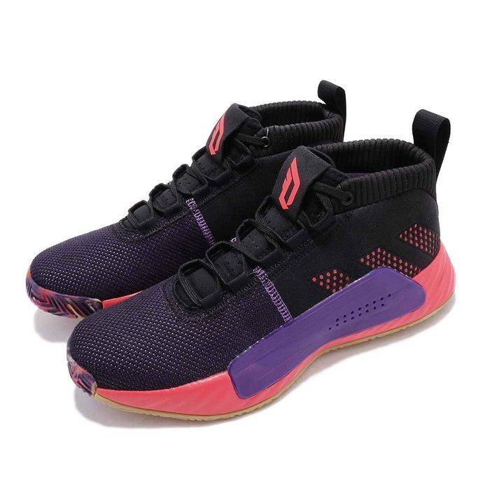 Washoes adidas DAME 5 lillard CBC 黑粉紫 EE4058 鋸齒鯊魚 里拉德 籃球鞋 男鞋