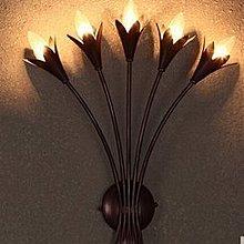 新款床頭壁燈創意浪漫田園客廳背景牆壁燈美式複古酒吧工程壁燈 AH282.