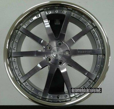 全新鋁圈 VERTINI MILANO 19吋鋁圈 金屬灰透面 亮唇 5/112 5孔112