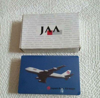 JAA Playing Cards 日本亞細亞航空日語漢語學習撲克