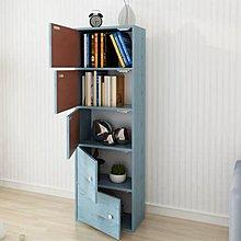 (訂貨價$250up) 帶門書櫃+櫃門 (三層|四層|五層) 書架 座地書櫃 儲物櫃 BookShelf Bookrack(包自取運費)