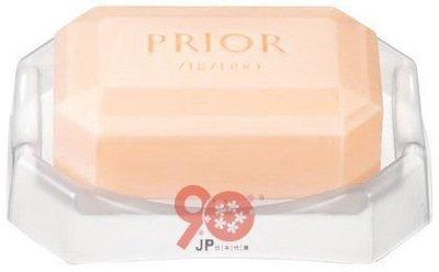 【90JP日本代購】資生堂(PRIOR高齡肌適用)洗顏皂100G