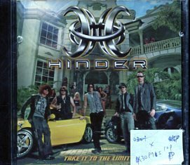 *真音樂* HINDER / TAKE IT TO THE LIMIT 二手 K30975 (封面底破)